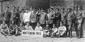 Posádka pořadatelů CK NKT CREW na výletě v italském UDINE v  r. 1915